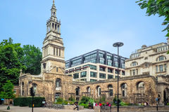 Christchurch Greyfriars Church Garden Stock Image