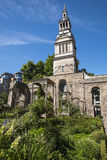 Christchurch Greyfriars Garden in London Royalty Free Stock Photo