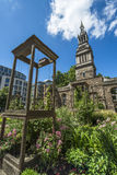 Christchurch Greyfriars Garden, London, UK Stock Image
