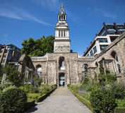 Christchurch Greyfriars in London Stock Images