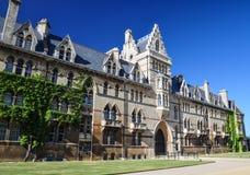 Christchurch högskola på Oxford universitetet - Oxford, UK arkivfoto