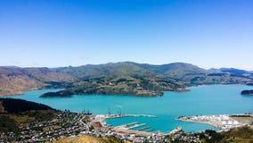 Christchurch hamn Arkivfoton