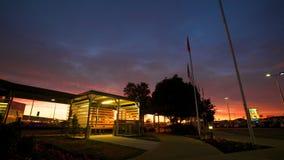 Christchurch internationell flygplats Arkivfoto