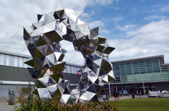 Christchurch internationell flygplats - Nya Zeeland Royaltyfria Foton