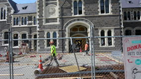 Christchurch konstmitt Christchurch Nya Zeeland lager videofilmer