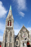Christchurch, Neuseeland lizenzfreies stockfoto