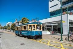 Christchurch, Neuseeland - 30. Januar 2018: Christchurch-Stadtzentrum Lizenzfreie Stockfotografie