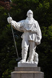Christchurch New - Robert Falcon Scott Statue Royalty Free Stock Photos