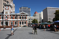 Christchurch, New Zealand Royalty Free Stock Photography