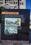 Tourist information sign post in New Zealand. Christchurch, New Zealand - May 2, 2015. Tourist information sign post in Christchurch, New Zealand. Christchurch Stock Photography