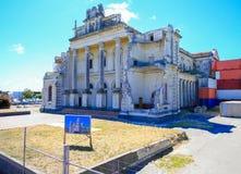 CHRISTCHURCH, NOUVELLE-ZÉLANDE - 16 FÉVRIER 2015 : Roman Catholic Cathedral du sacrement béni Photo stock
