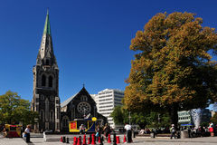 Christchurch - Nueva Zelanda Fotografía de archivo libre de regalías