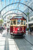 Christchurch, Nueva Zelanda - 30 de enero de 2018: Centro de ciudad de Christchurch foto de archivo