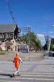 Todavía catedral una ruina Fotos de archivo