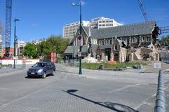 Todavía catedral una ruina Foto de archivo libre de regalías