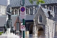 Todavía catedral una ruina Imagen de archivo libre de regalías