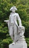 Christchurch, Nueva Zelandia - sir James Cook Imágenes de archivo libres de regalías
