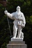 Christchurch nuovo - statua dello Scott del falco del Robert Fotografie Stock Libere da Diritti