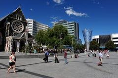 Christchurch - Nya Zeeland Arkivbilder