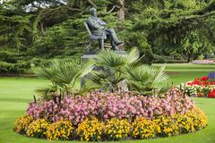 Christchurch ogródy botaniczni Nowa Zelandia obraz stock