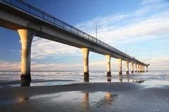 Christchurch-Pier Lizenzfreies Stockfoto