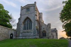 Christchurch Priory fotografia stock