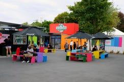 Christchurch rebuilds - restart mall Royalty Free Stock Photos