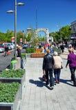 Christchurch Reconstruction - Cashel Mall Opens Royalty Free Stock Photos