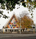 Christchurch`s `Cardboard Cathedral` Stock Images
