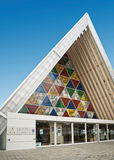 Christchurch`s `Cardboard Cathedral` Stock Photography