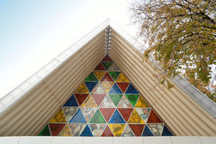Christchurch`s `Cardboard Cathedral` Royalty Free Stock Photography