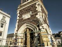 Christchurch som är nyazeeländsk. Maj 20th 2012 Royaltyfri Fotografi