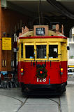 Christchurch Tramway tram system - New Zealand. CHRISTCHURCH - DEC 07 2015:Christchurch Tramway tram system.The tramway operate since 1882 and become one of the Royalty Free Stock Photos