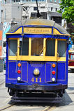 Christchurch Tramway tram system - New Zealand Royalty Free Stock Photos