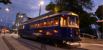 Christchurch Tramway tram system - New Zealand Stock Photography