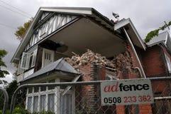 christchurch trzęsienia ziemi marys st vicarage Zdjęcia Stock
