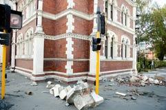 Christchurchaardbeving 2011 - Nieuw Zeeland Royalty-vrije Stock Afbeelding