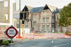 Christchurchaardbeving 2011 - Nieuw Zeeland Royalty-vrije Stock Afbeeldingen