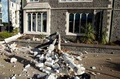 Christchurchaardbeving 2011 - Nieuw Zeeland Royalty-vrije Stock Foto's