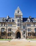 Christchurchuniversiteit bij de Universiteit van Oxford - Oxford, het UK Stock Foto's
