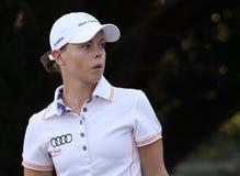 Christel Boeljon bij golf Evian beheerst 2012 Royalty-vrije Stock Afbeelding