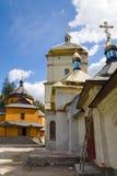 Christelijk klooster royalty-vrije stock fotografie