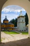 Christelijk klooster stock afbeeldingen