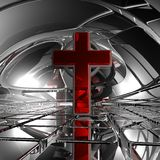 Christelijk kruis Royalty-vrije Stock Foto