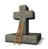 Christelijk kruis Royalty-vrije Stock Foto's