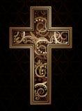 Christelijk kruis vector illustratie