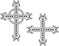 Christelijk kruis Royalty-vrije Stock Afbeeldingen