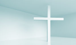 Christelijk kruis royalty-vrije illustratie