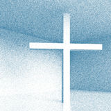 Christelijk kruis stock illustratie