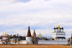 Christelijk orthodox Klooster Royalty-vrije Stock Afbeeldingen